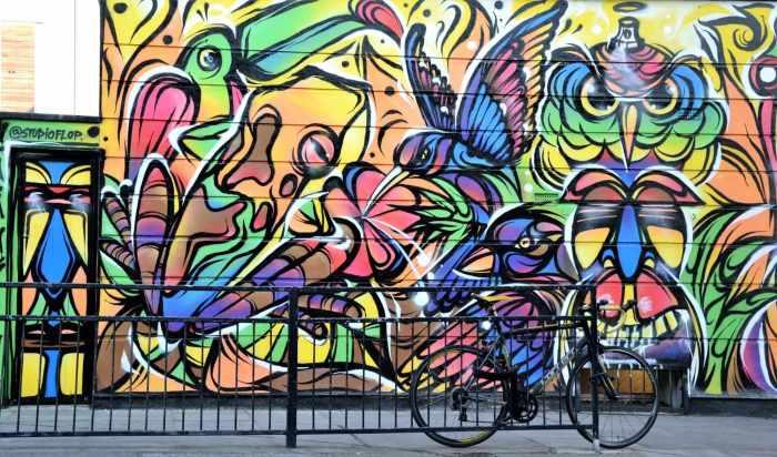 Street Art de rue à Camden Town, Londres