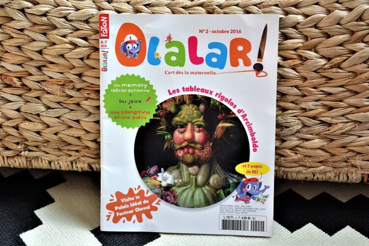 olalar magazine jeunesse art