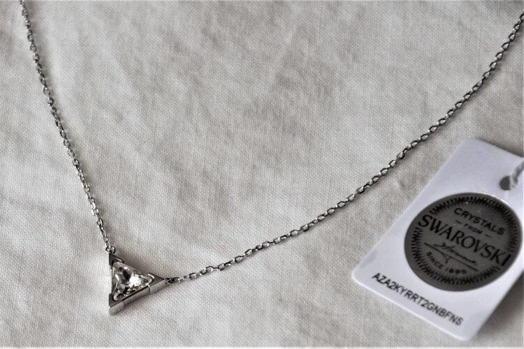 collier avec cristal de Swarovsky my jolie candle