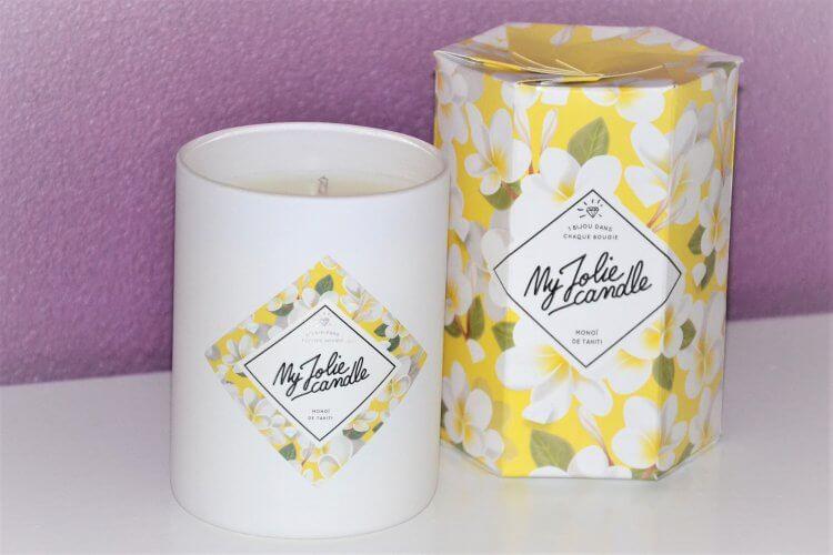 my jolie candle MonoÏ de tahiti