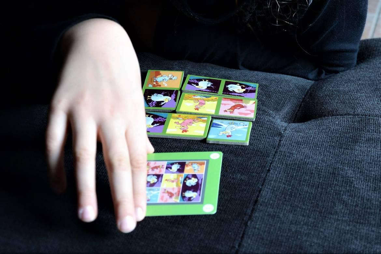 jeu de dominos et carte defi