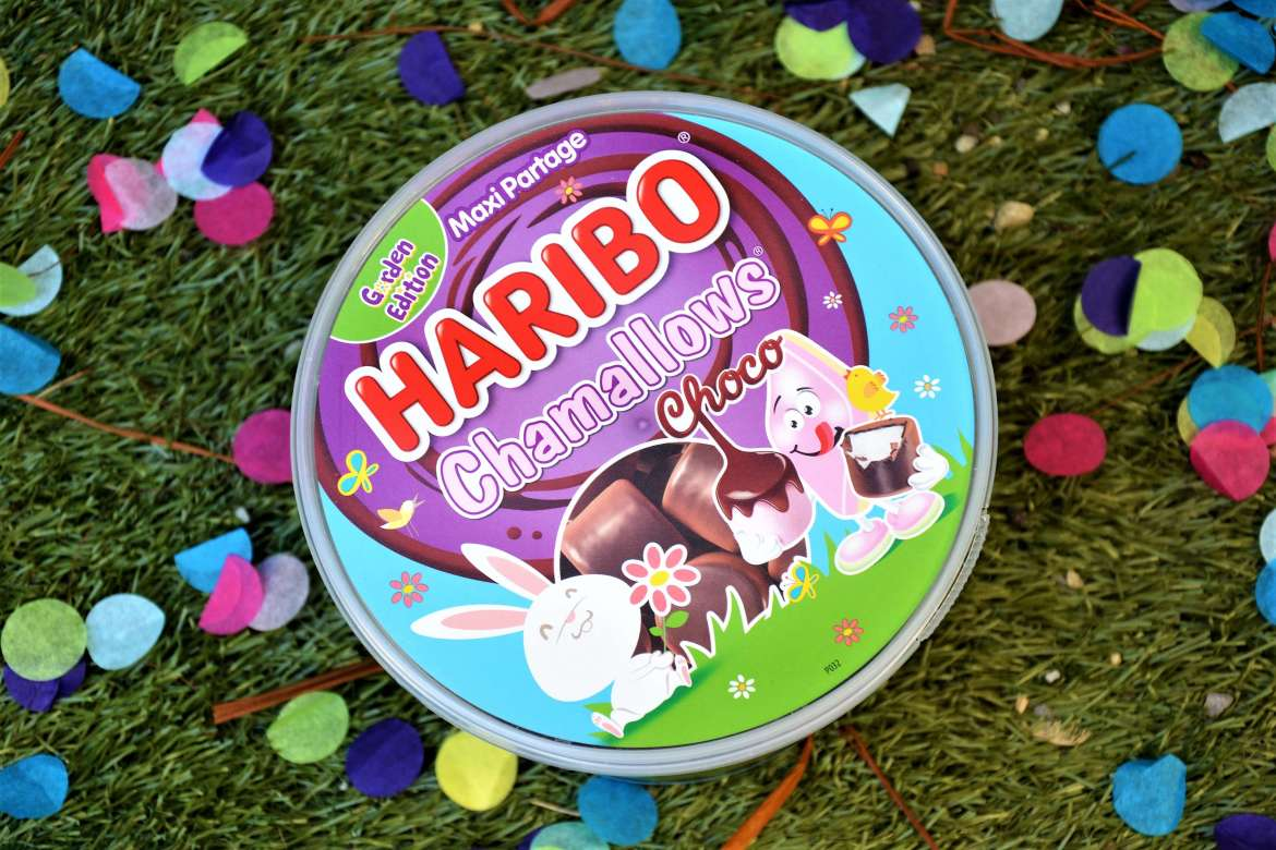 chamallows choco haribo pour paques