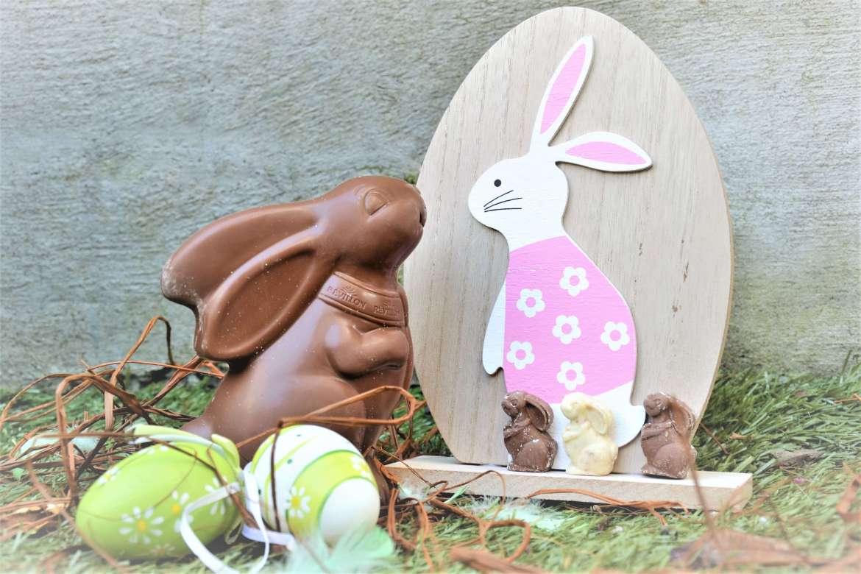 grand moulage lapin révillon chocolatier