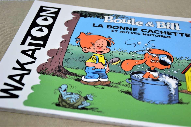 livre de coloriage animé wakatoon boule et bill