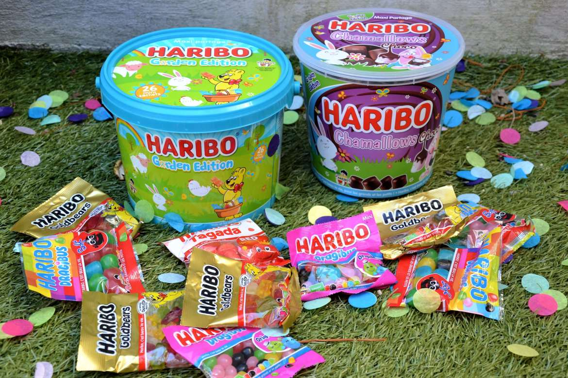 haribo garden edition limitée pour paques chamallows choco