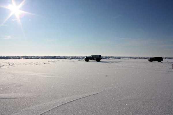 Lämmi- ja Pihkva järvede jääle võib minna jalgsi ja maastikusõidukitega