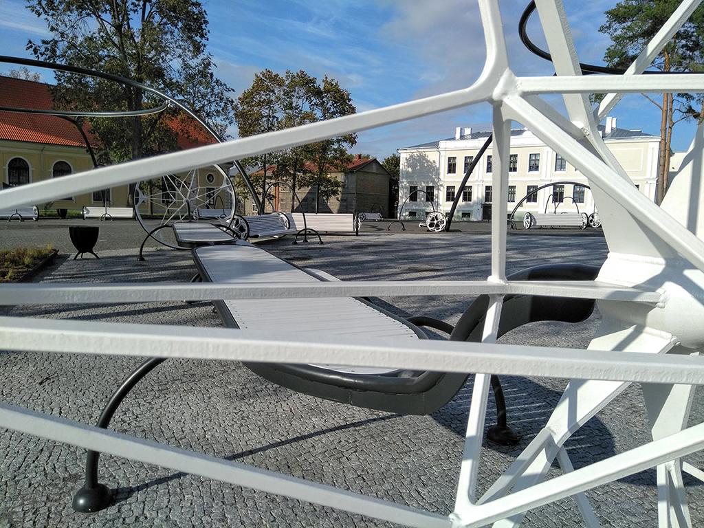 Võru metallikunstnik keskväljaku kohta: Kõle, tunnen end nagu võõras kohas
