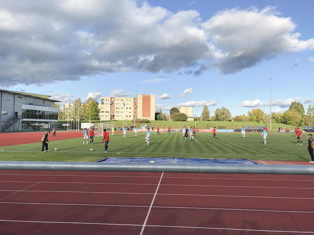 UEFA U17 sõprusturniir Võrus: Hispaania-Sloveenia mäng 5:1