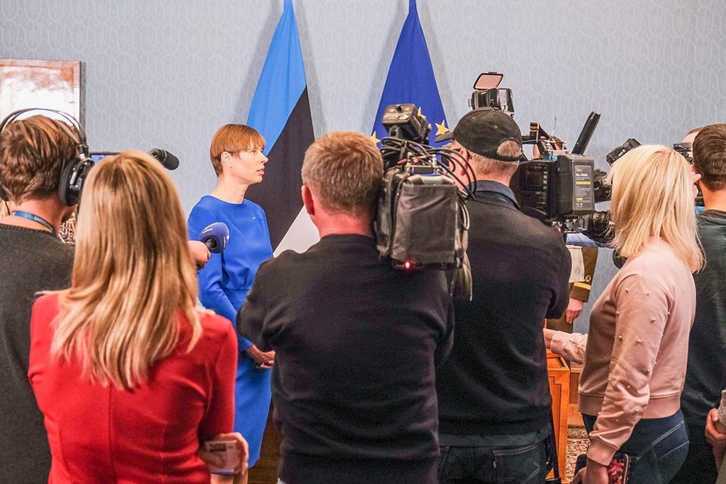 Vabariigi President vabastas Kert Kingo ministriametist