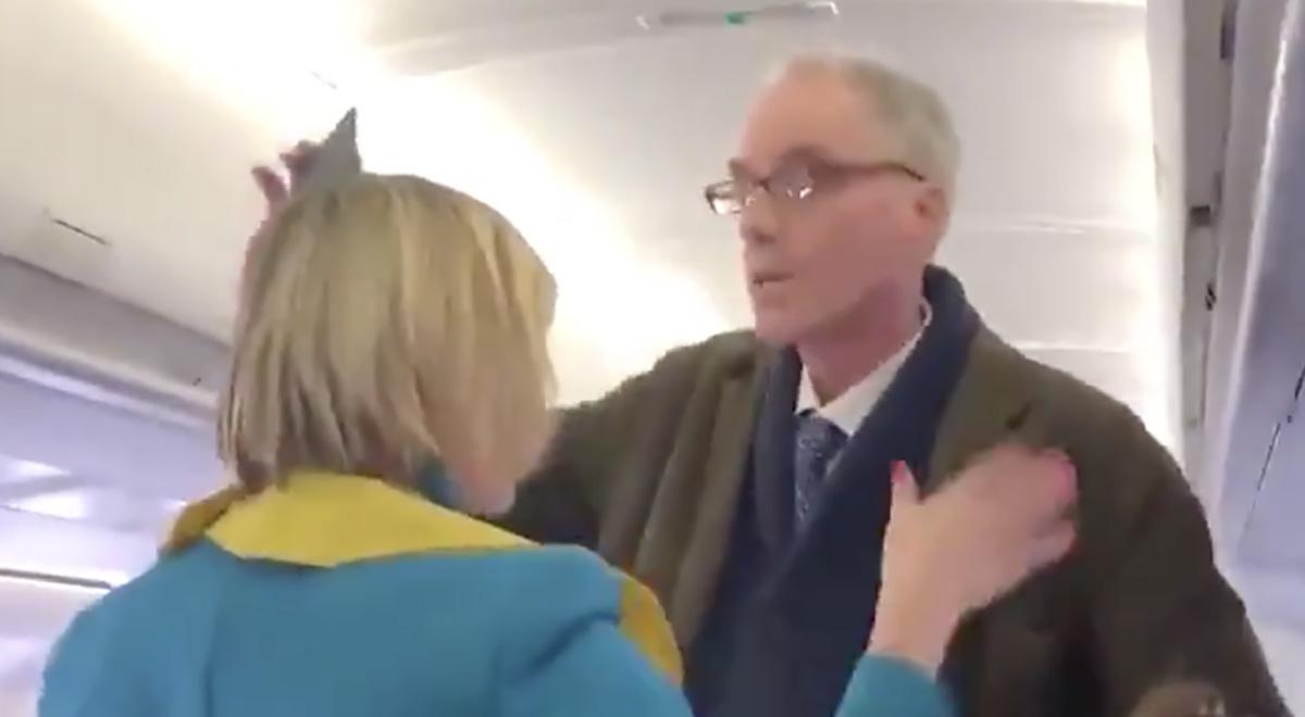 VIDEO: Kliimasõdalane peatab Londonis lennuki