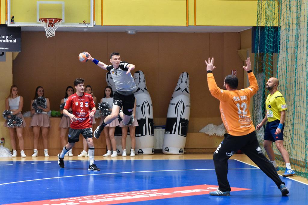 Käsipalli Balti liigas jätkasid Eesti klubid pühapäeval viigilainel