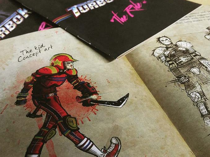 "Livret du DVD de ""Turbo Kid"""