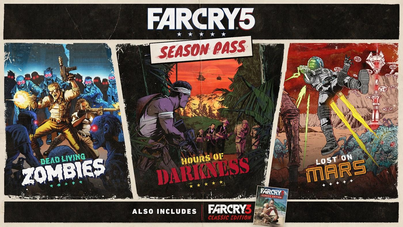 Affiches promo pour DLC – Far Cry 5