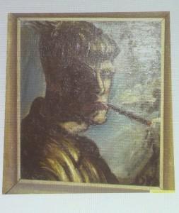Self-portrait, Otto Dix