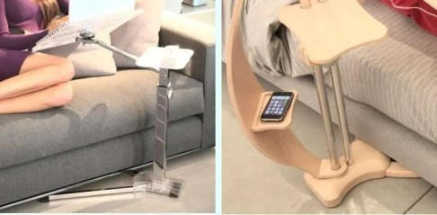 easy slip under furniture