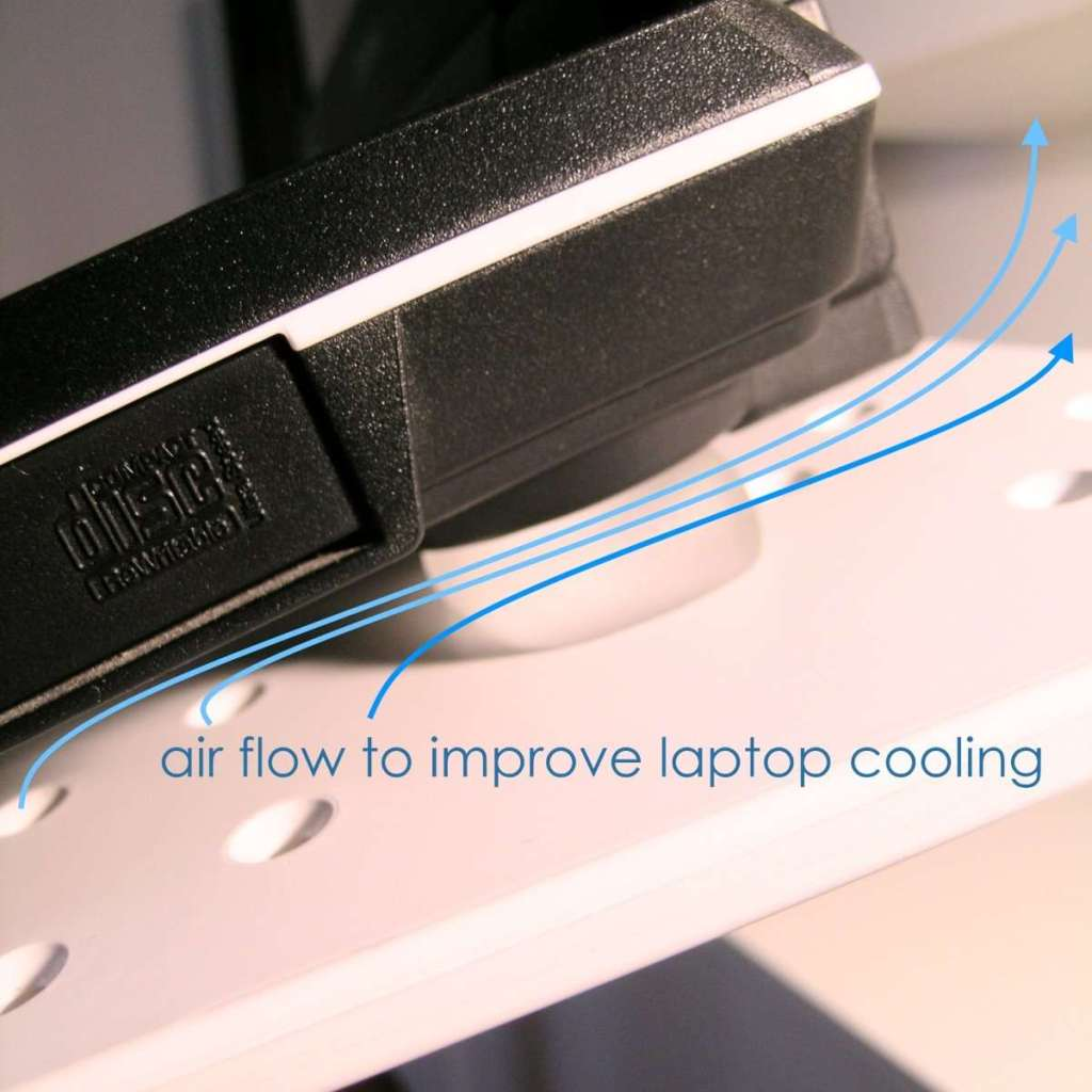 Improve stability and Laptop Cooling