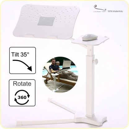 Ergonomic laptop stand. Fully adjustable, suymmetric.
