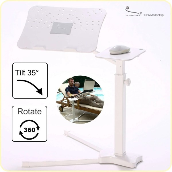 Ergonomic laptop stand. Fully adjustable, suymmetric.