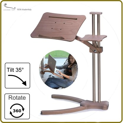 ergonomic notebook stand fully adjustabe