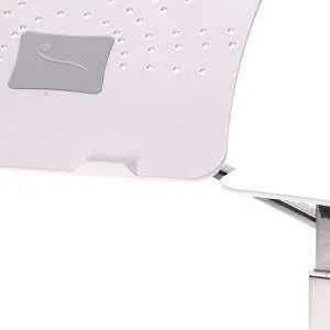 vassoio supporto notebook chrome white