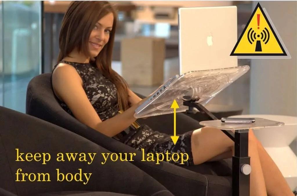 helt justerbar, ergonomisk bärbar dator