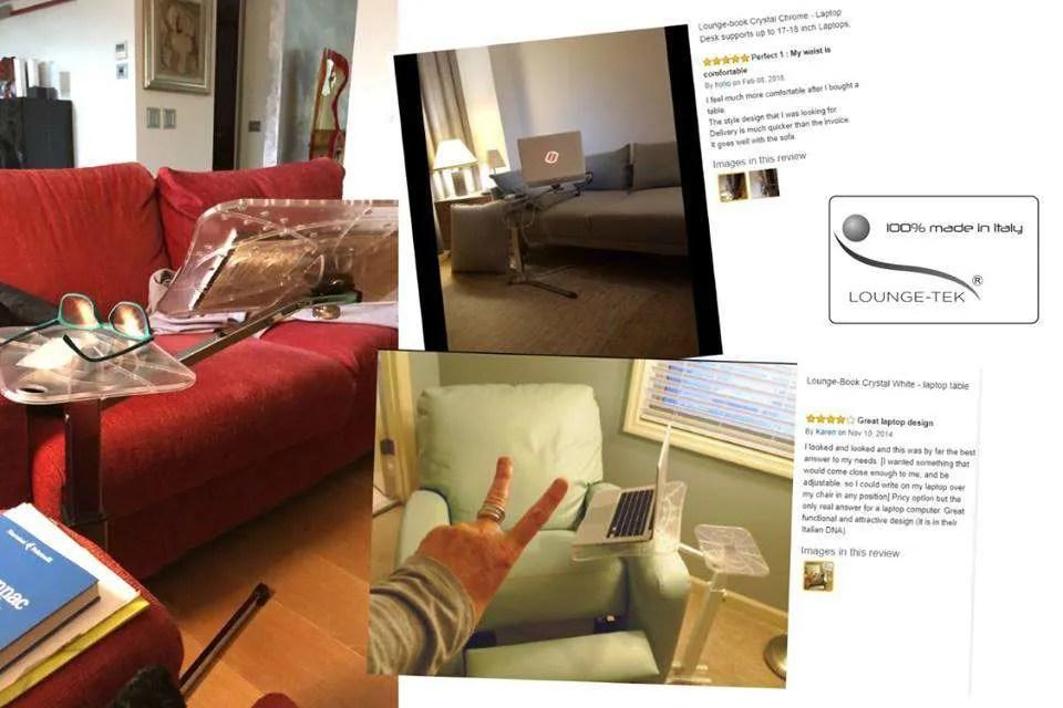 commentaires clients support ordinateur portable