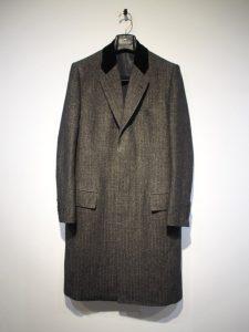 Linen Wool Chesterfield Coat