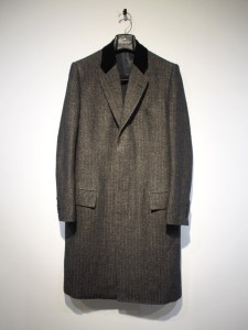 Linen Wool Chesterfield Coat