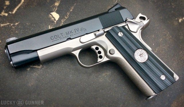 Custom Two-Tone Colt Commander 1911