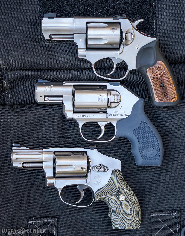 K6s SP101 S&W 640 comparison