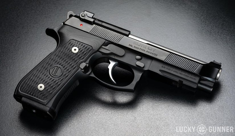 Right-side view of the Beretta 92 Elite LTT