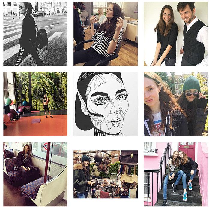 Instagramowe modelki Instagramowe modelki - nasze inspiracje 1