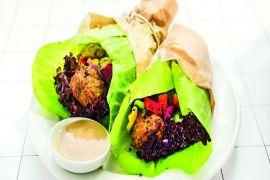 Falafel Tahini Wrap [przepis]