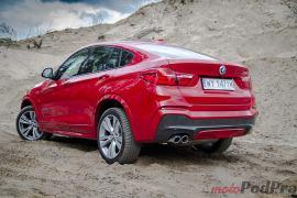 BMW X4 Test BMW X4 35d xDrive - ciężki do zaszufladkowania 17