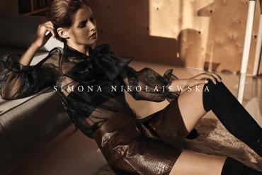 """Simona Nikołajewska - ,,Soul"""" kolekcja jesień-zima 2016"""
