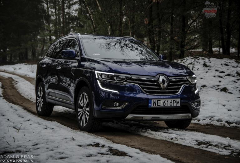 Test Renault Koleos 2.0 dCi 4×4 Intens – przyjemny i stateczny
