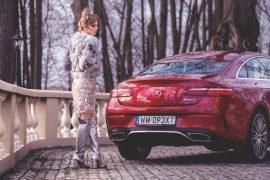 Mercedes E400 Coupe 4Matic- klasyka współcześnie wydana