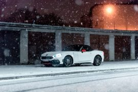 Abarth 124 Spider - Cabrio w zimie [test]