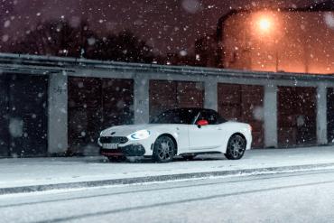 Abarth 124 Spider - Cabrio w zimie [test]