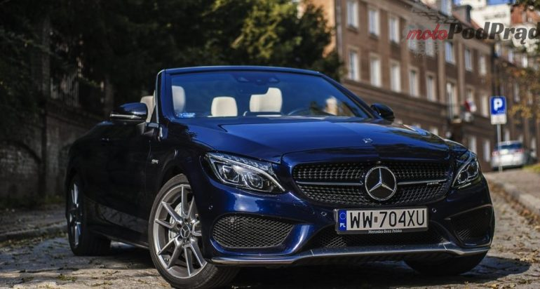 Dżentelmeni o pieniądzach nie rozmawiają... Mercedesa C 43 AMG Cabrio [test]