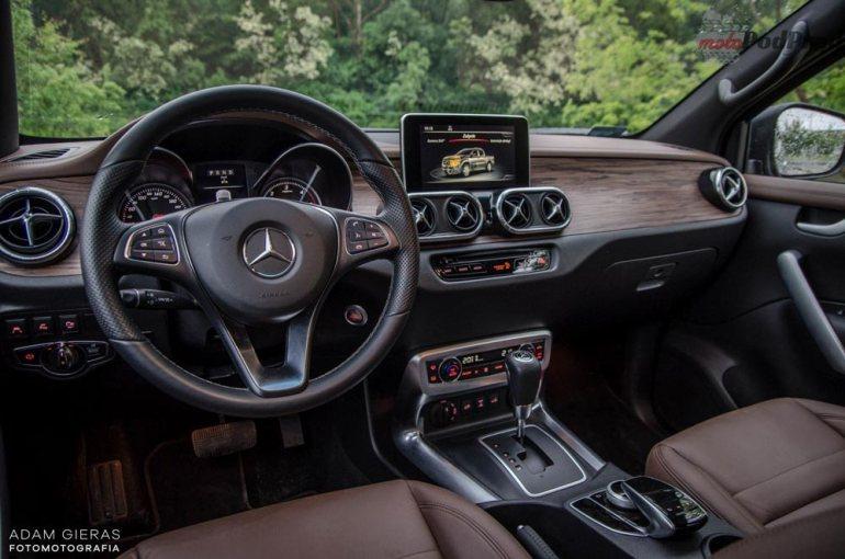 Mercedes X250d - czypick up może być luksusowy? [test] Mercedes X250d - czypick up może być luksusowy? [test] 4