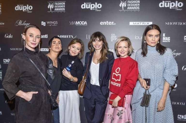 Spotkanie prasowe 10. edycji Fashion Designer Awards Agnieszka Dygant iDawid Woliński - selfie naspotkaniu 10. edycji Fashion Designer Awards! 6