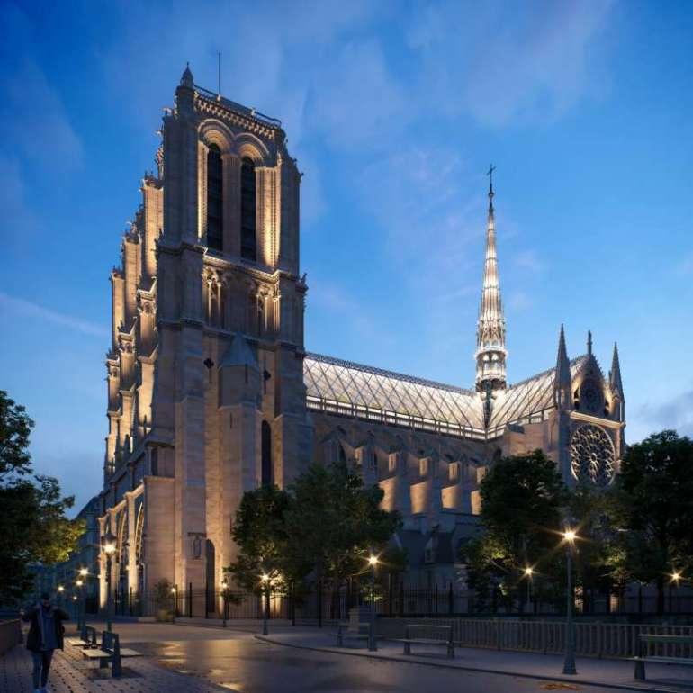 Najbardziej zaskakujące koncepcje odbudowy Notre Dame Najbardziej zaskakujące koncepcje odbudowy Notre Dame 6