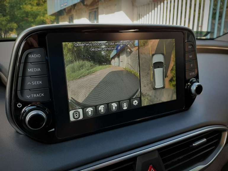 Hyundai Santa Fe Hyundai Santa Fe - czytym razem będzie nowocześnie iwygodnie? [test] 8