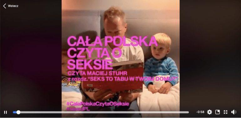 """""""Cała Polska czyta oseksie"""" Gwiazdy angażująsięw akcję """"Cała Polska czyta oseksie"""" Gwiazdy angażująsięw akcję 2"""