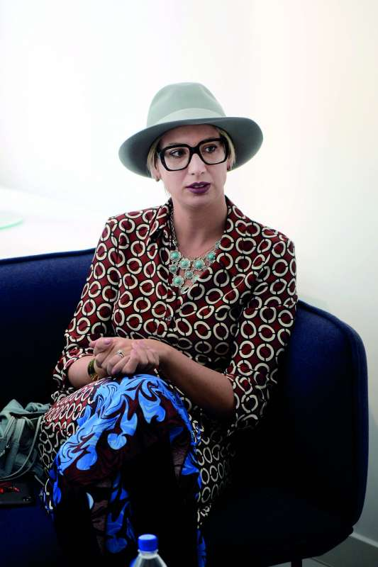 """Arianna Casadei: """"Moda tocoś Arianna Casadei: """"Moda tocoś, co kryje się wpowietrzu"""" [wywiad] 2"""