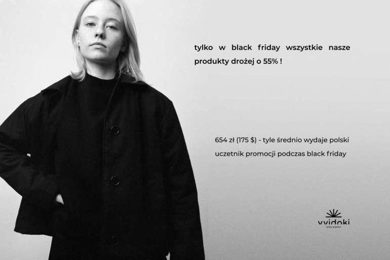 Black Friday inaczej - ceny wyższe o55%! Dlaczego? Black Friday inaczej - ceny wyższe o55%! Dlaczego? 1