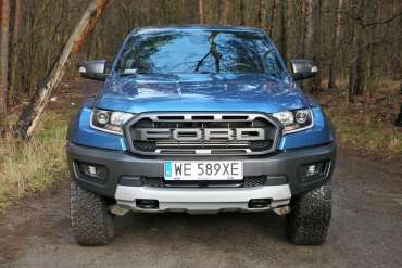 Test Ford Ranger Raptor – importowany zUSA