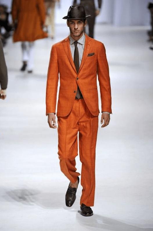 Elegancki mężczyzna = wyluzowany mężczyzna?