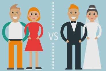 Małżeństwo czykohabitacja?